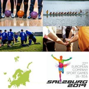 European Company Sport Games Salzburg 2019
