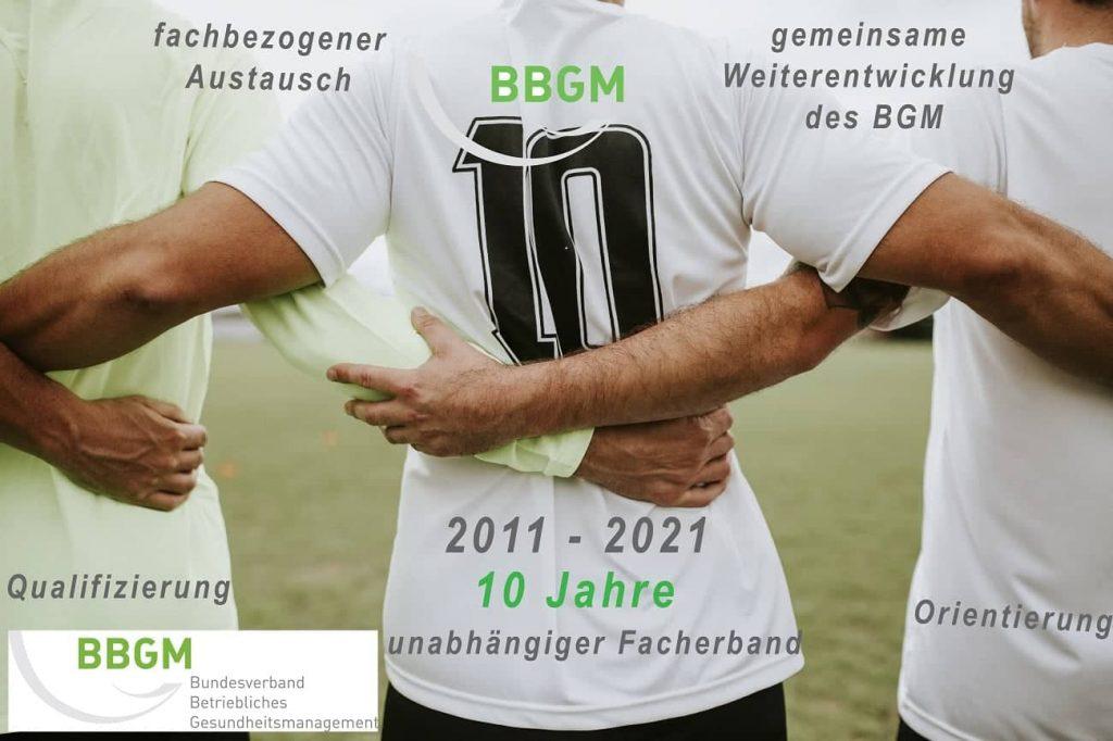 Betriebliches Gesundheitsmanagement, Bundesverband, BBGM
