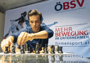 Florian Ram spielt Schach, ÖBSV Generalsekretär