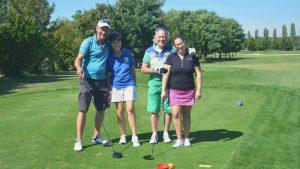 Golf, Team, Golfclub Frühling