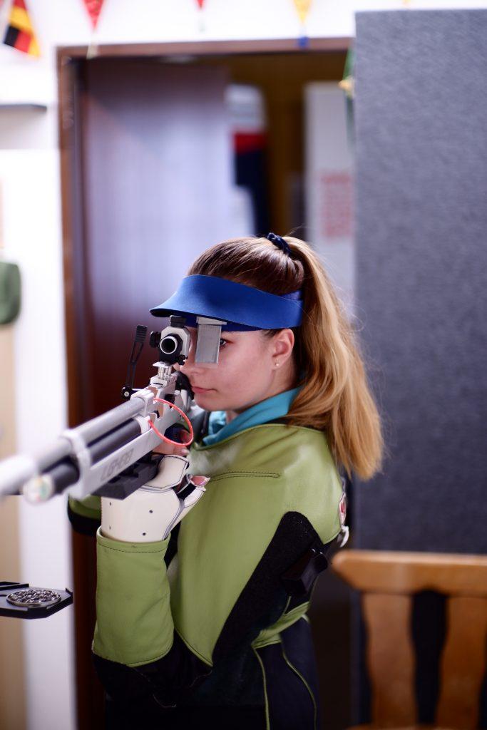 1. ÖBM Sportschiessen, TeilnehmerIn mit Luftgewehr, ESV Amstetten, 07.03.2020
