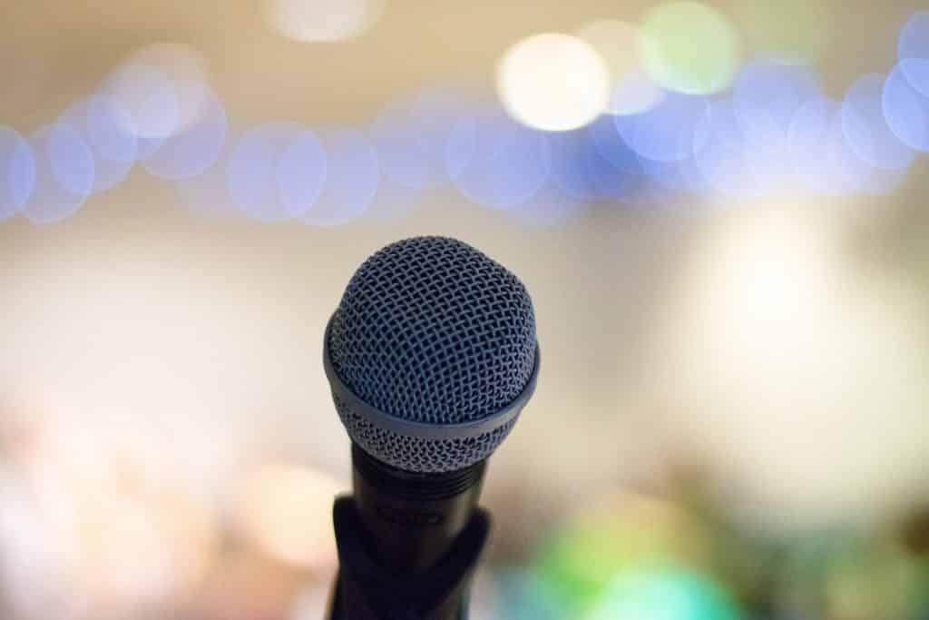 Mikrofon, Fachtagung