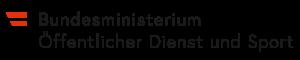 Logo Bundesministerium Öffentlicher Dienst und Sport