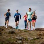 Laufrunde aus Männern und Frauen, Natur